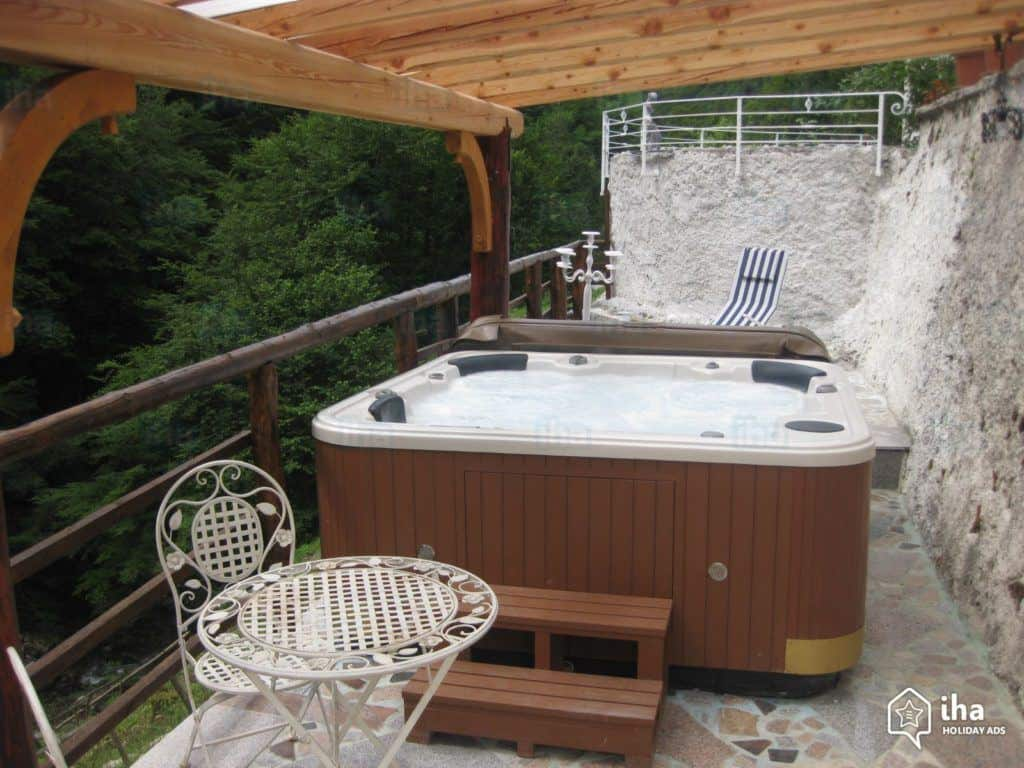 mini whirlpool balkon